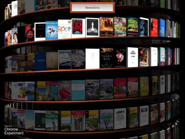 webgl bookcase