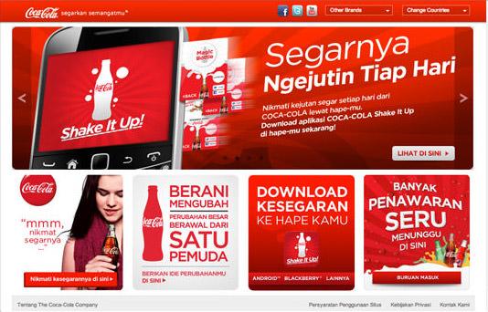 coke website