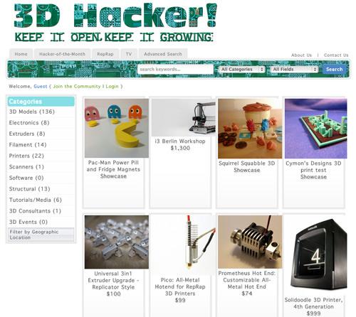 3D Hacker