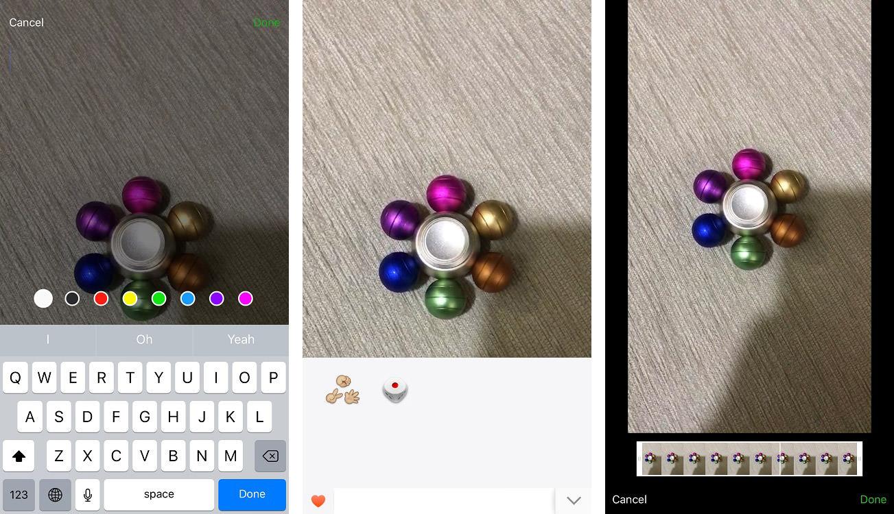 wechat video edit features