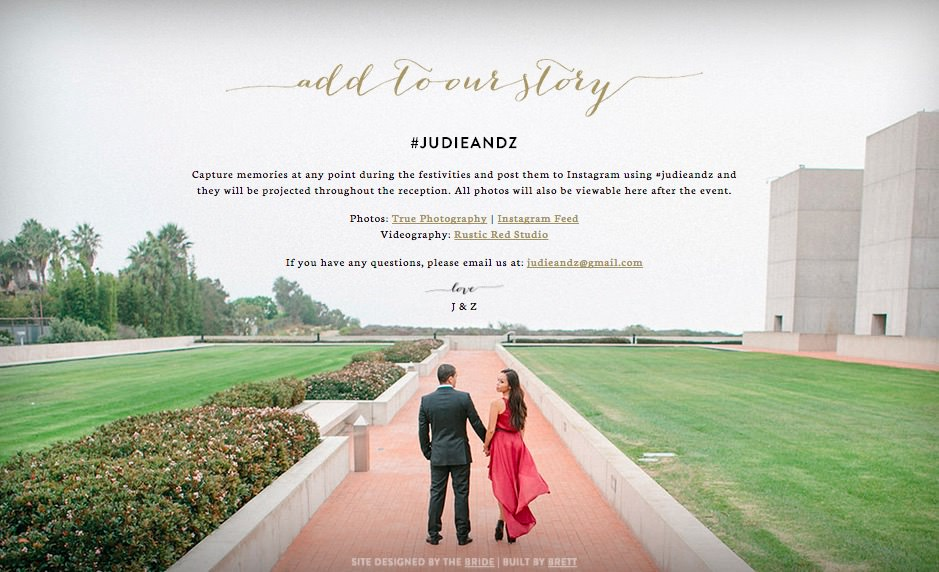 20 Beautiful Wedding Invitation Website Designs - Hongkiat