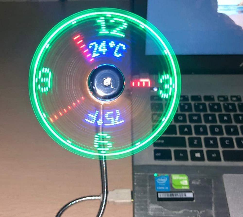 USB-LED-Fan