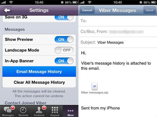 Viber Backup