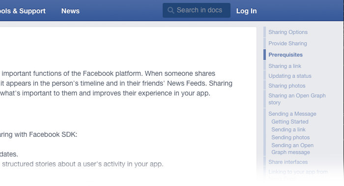 doc example facebook