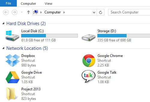 Folder Shortcut