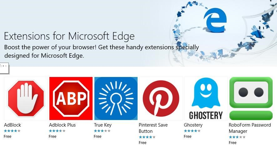 Add Extensions in Microsoft Edge