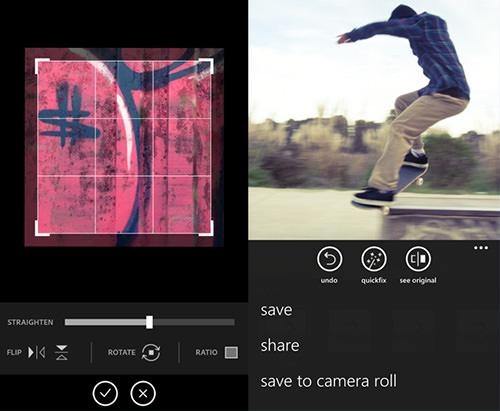 adobe photoshop express app screenshot