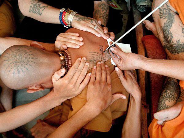 Buddhist Monk, Thailand by Stephen Shaver