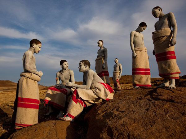 Circumcision Ritual, South Africa by James Nachtwey