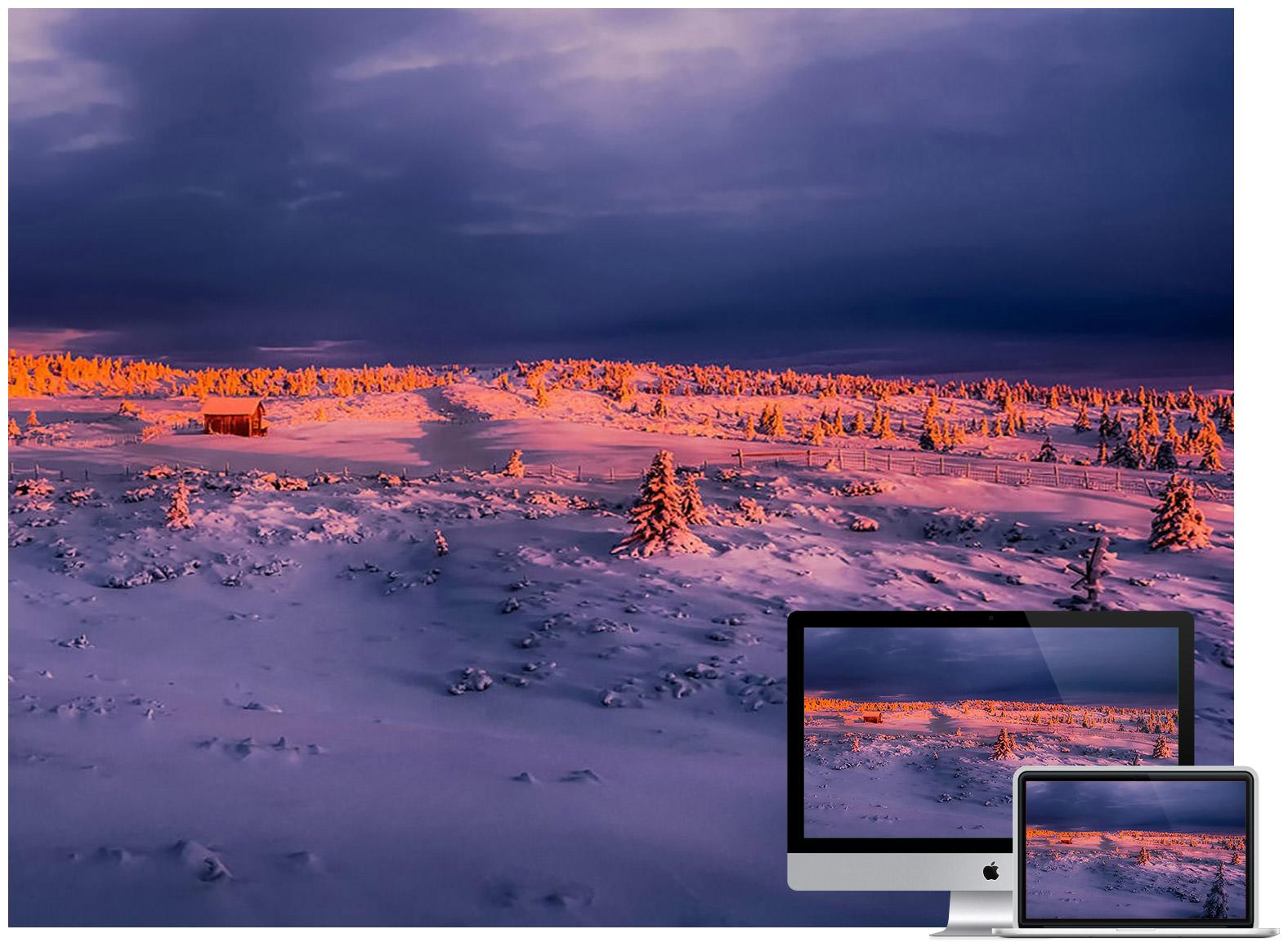 Winter Sky Glow