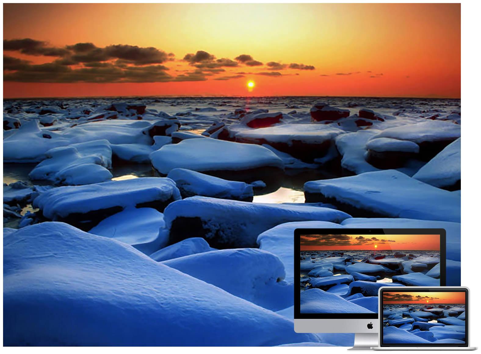 Winter Snow Horizon