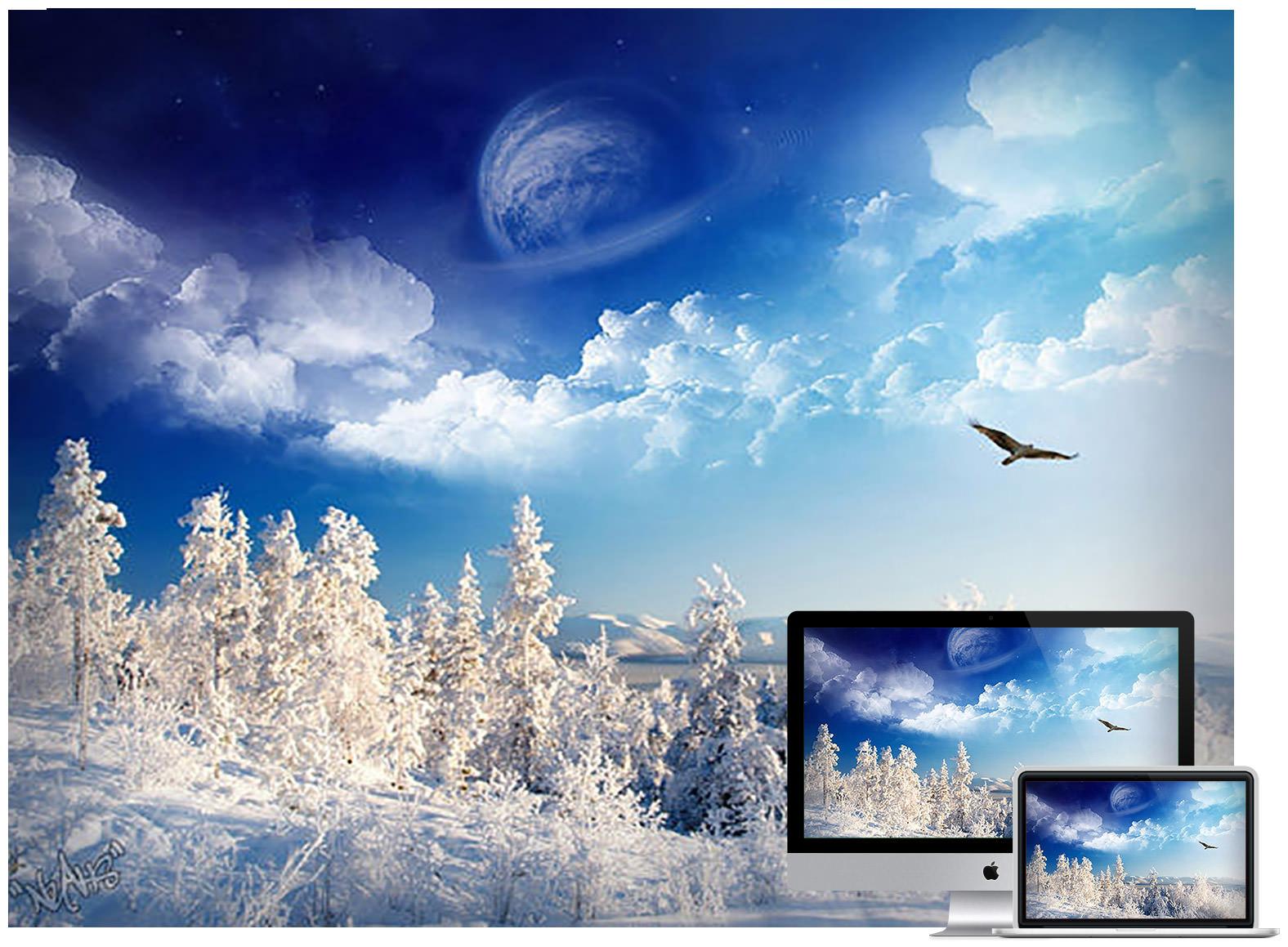 Winter Wonderland Pac - Bộ ảnh nền mùa Đông đẹp dành cho máy tính