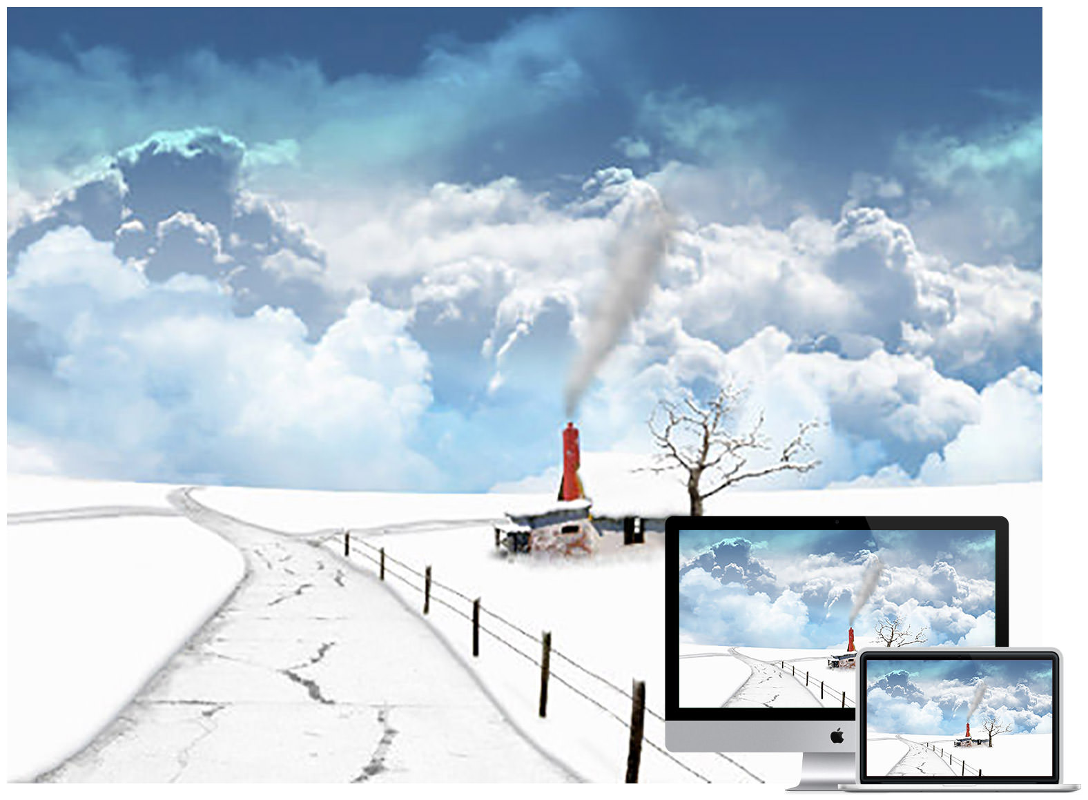 winter wallpaper - Bộ ảnh nền mùa Đông đẹp dành cho máy tính