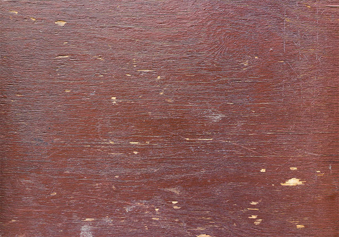 Burgundy Painted Wooden Surface