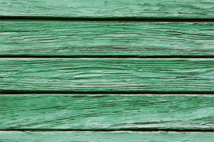 Green Weathered Wood Texture