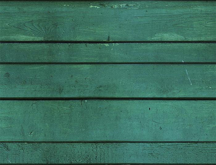 Green Wooden Facade Seamless Texture