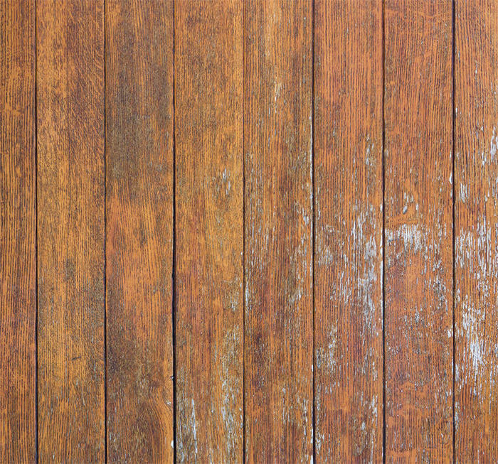 Orange wooden boards surface texture
