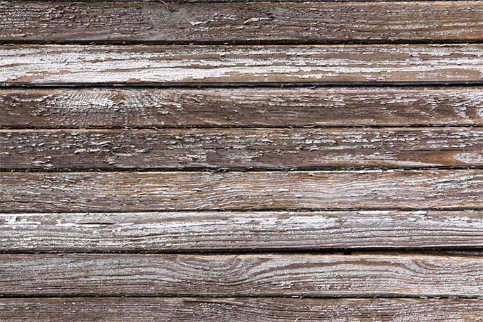 Weathered Peeling Plank Texture