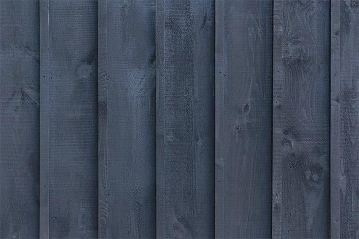 Black Wooden Stained Wood Planks Texture