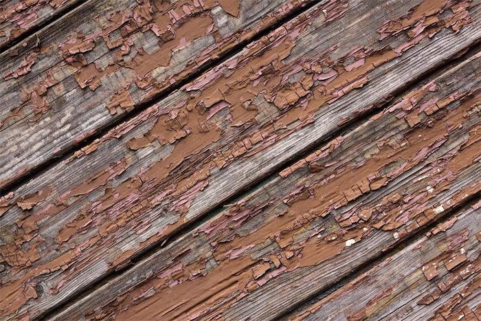 Wood Peeling Plank Texture