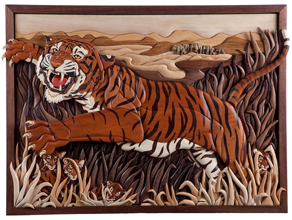 Tiger Trail by Kathy Wise