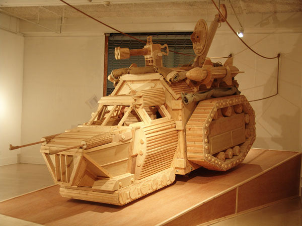 Wooden Technology by Michael Rea