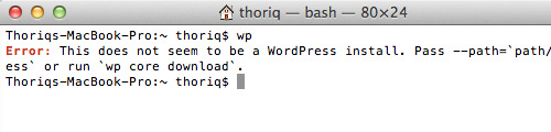 Learn how to Set up WordPress by way of Command Line