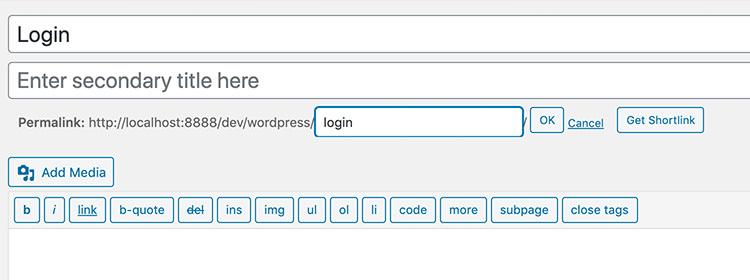 ساخت و شخصی سازی صفحه لاگین وردپرس (بدون افزونه) − CodeFriend