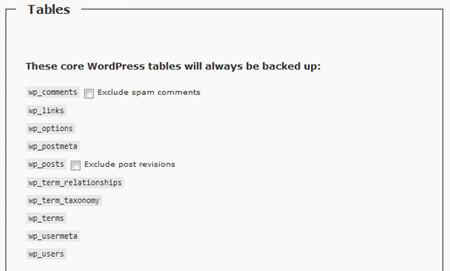 پشتیبانگیری از دیتابیس و فایلهای وردپرس