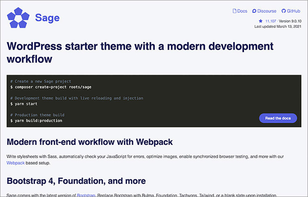 Sage homepage and command lines to start a project with it