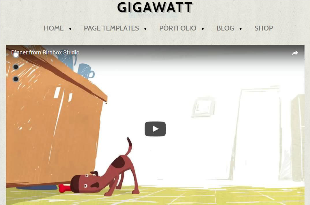 Gigawatt's demo