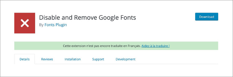 Отключить шрифты Google