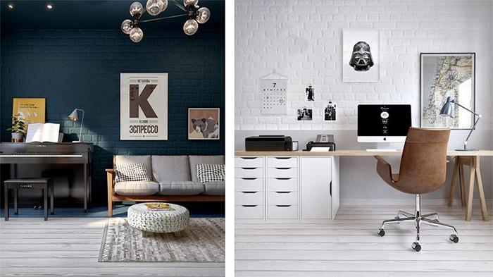 neat workspace idea