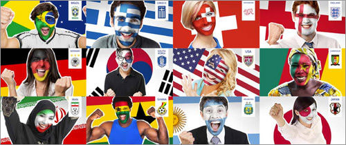 Paint Any Face For The FIFA World Cup