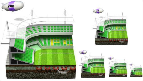 Soccer Football Stadium