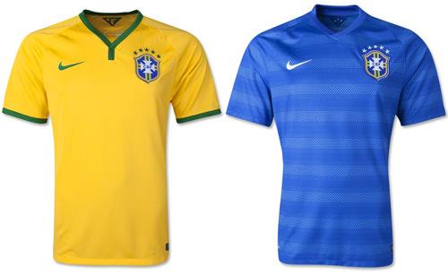 Brazil 2014 Replica Jersey