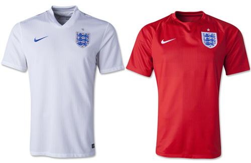 England 2014 Replica Jersey