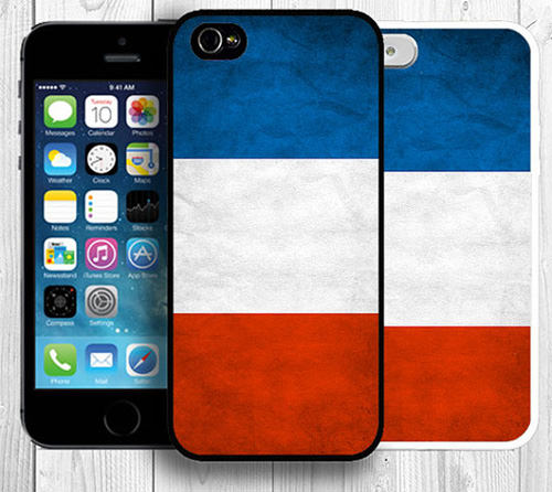 France iPhone 4 / 4S / 5 / 5S Case