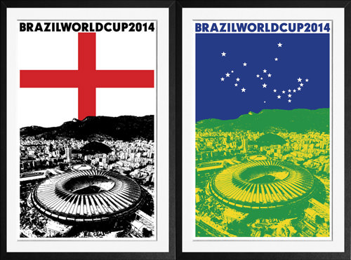 Maracana World Cup Prints