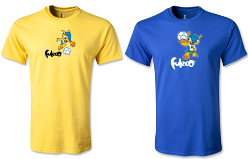 Official FIFA World Cup 2014 Mascot T-Shirts