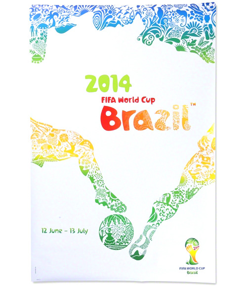 2014 FIFA World Cup Brazil Official Poster