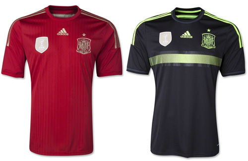 Spain 2014 Replica Jersey
