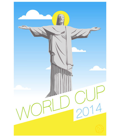 World Cup 2014 - SRA3 Print