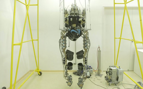 Mind-Controlled Robotic Suit