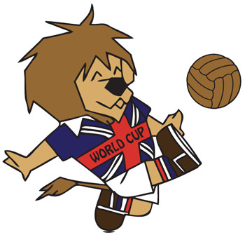 England - World Cup Willie