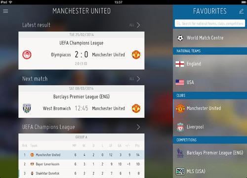 FIFA iPad App