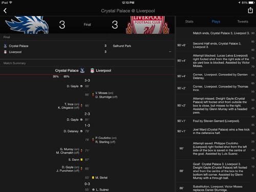 Yahoo Sports iPad
