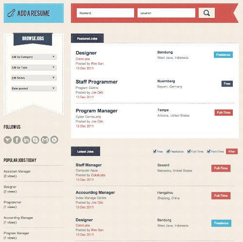 wordpress job board themes and plugins best of hongkiat