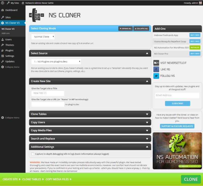 NS Cloner