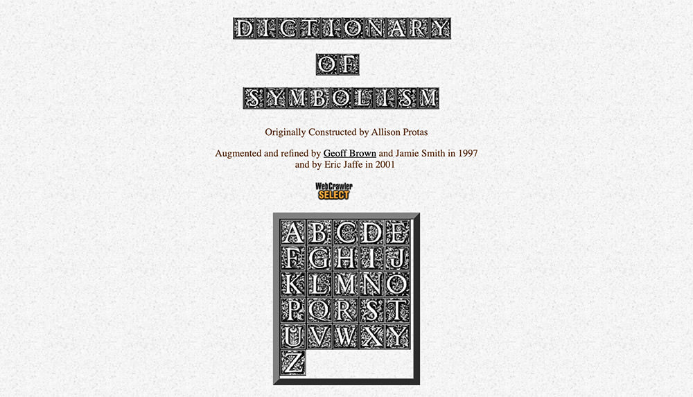 Dictionary of Symbolism